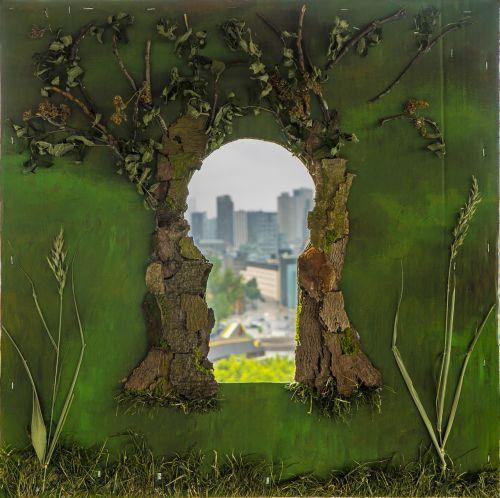 keyhole city art