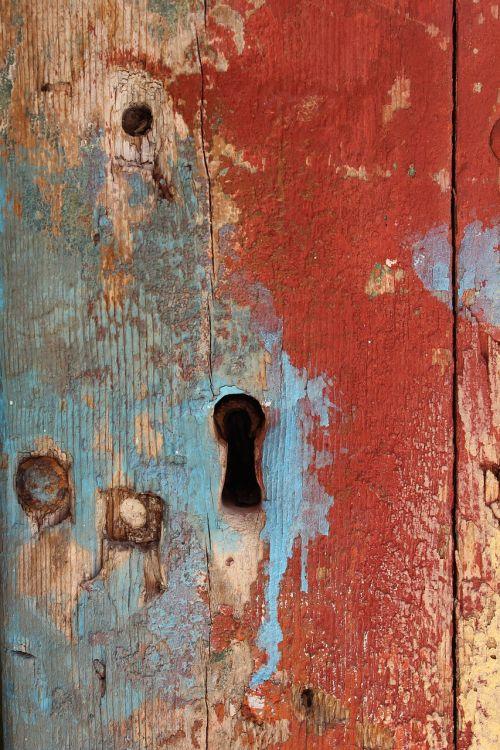 keyhole paint grunge