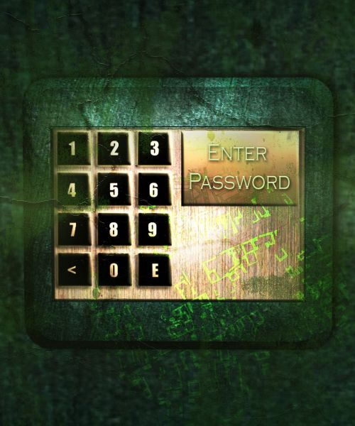 keypad login security