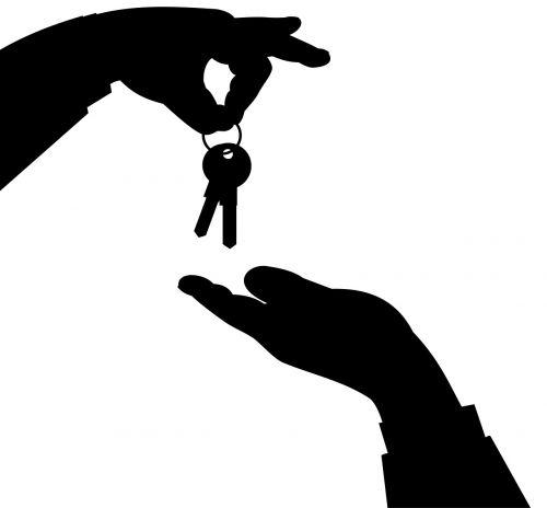 keys hands own