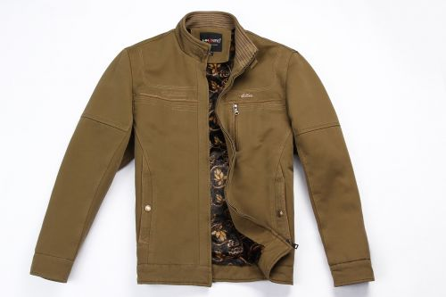 khaki jacket positive