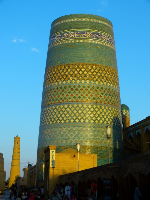 khiva minaret kalta minor