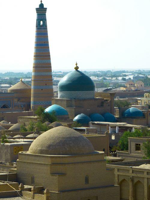 khiva kihva minaret