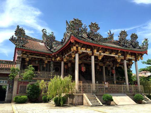 khoo kongsi chinese clan house penang