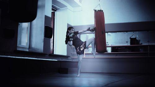 kickboxer girl moscow