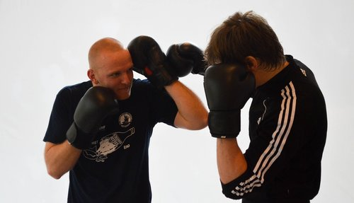 kickboxing  fitness  boxer
