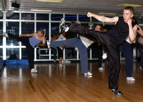 kickboxing course gym training