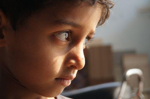 kid face little