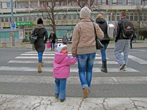 kid little girl walk