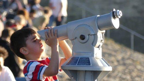 kid  binoculars  spyglass