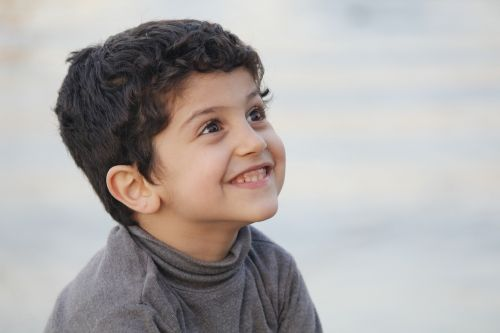 kid laugh iraq