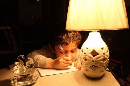 kid drawing iraq