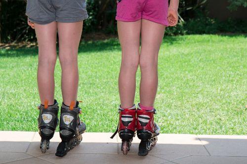 kids roller blades skating