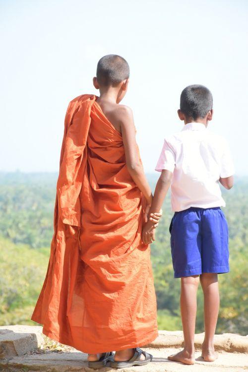 kids kid buddhist