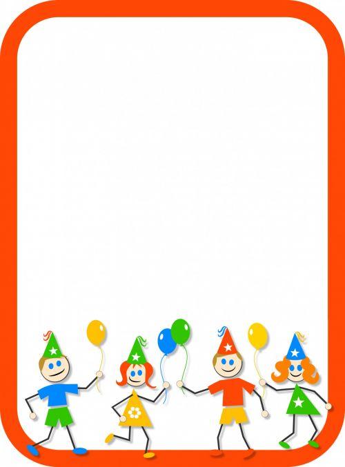 Kids Party Border
