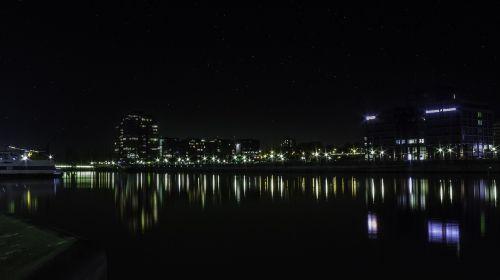 kiel night photo starry sky