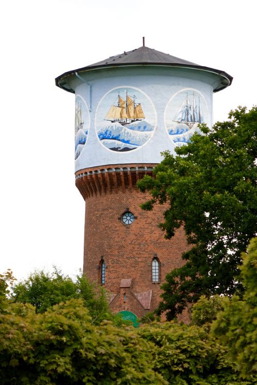 kiel water tower cultural monument