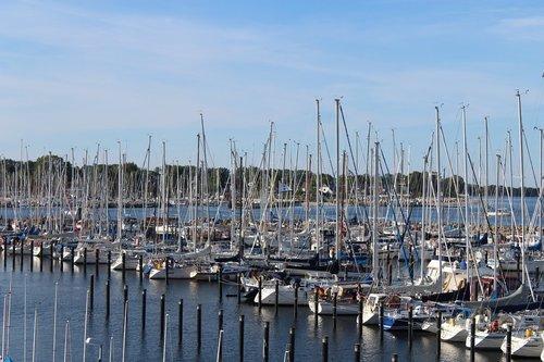 kiel  schilksee  sports harbour