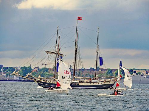 kiel week kieler firth regattas