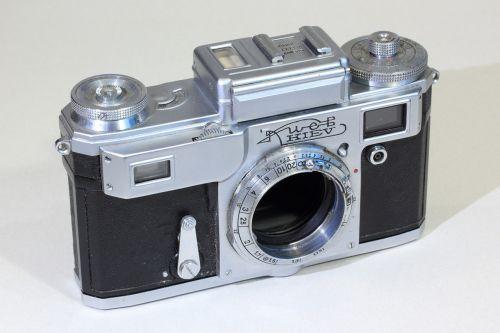 kiev rangefinder camera