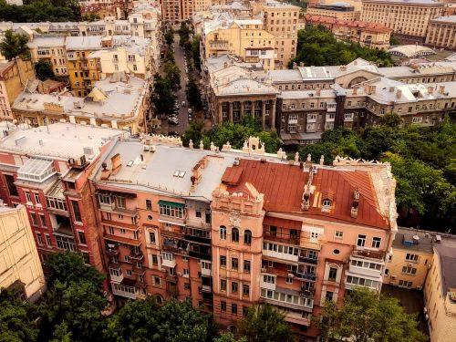 kiev,ukraina,miestas,miesto,miesto panorama,pastatai,centro,architektūra