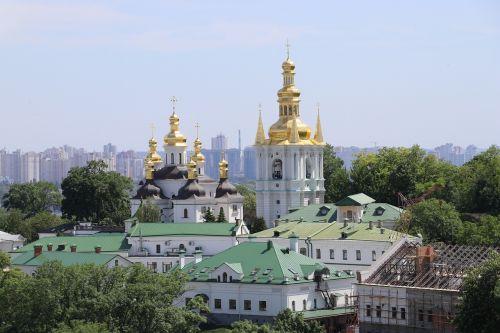 kiev pechersk lavra church kiev