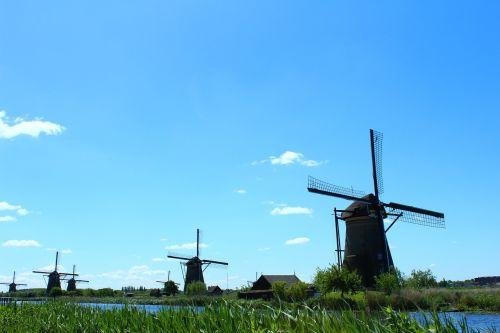 kinderdijk mill mills