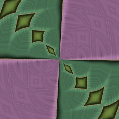 Kindergarten Floor Kaleidoscope