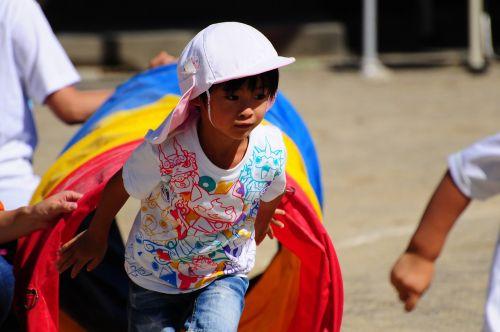 kindergarten sports day steeplechase