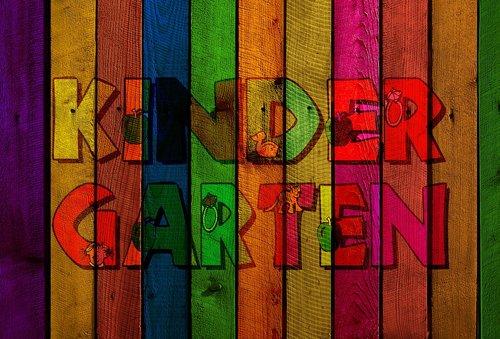 kindergarten  wood  boards