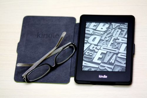 kindle paper white book