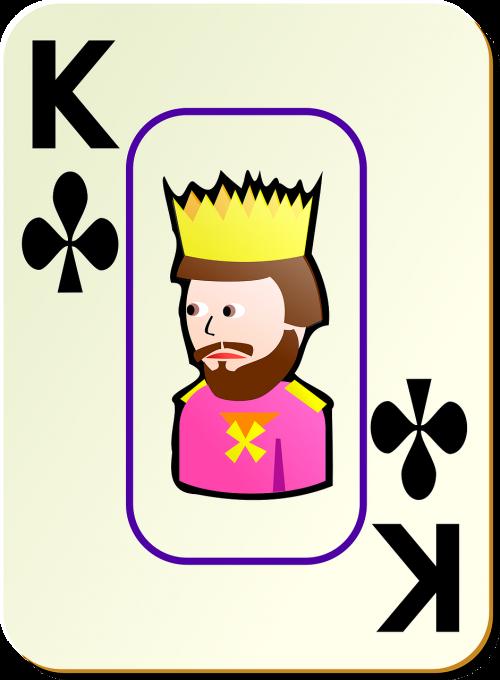 king clubs card