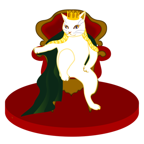 king  cat  those in power