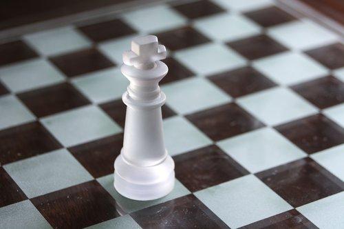 king  chess  white