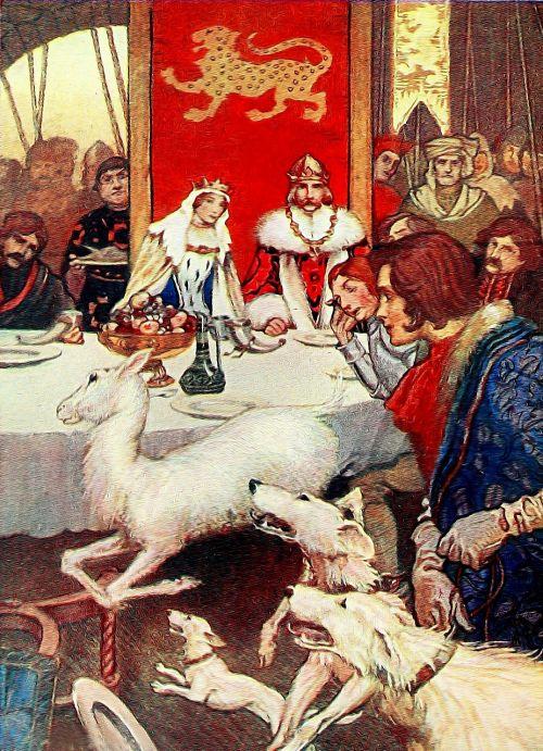 king arthur literature book illustration