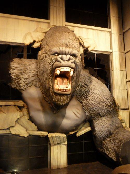 king kong wax museum wax figure