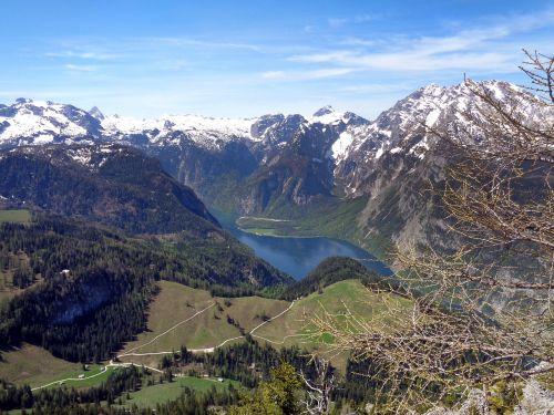 king lake mountains bavaria