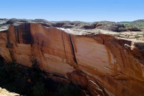 kings canyon australia outback
