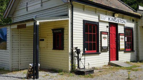 kingston old railway station station building