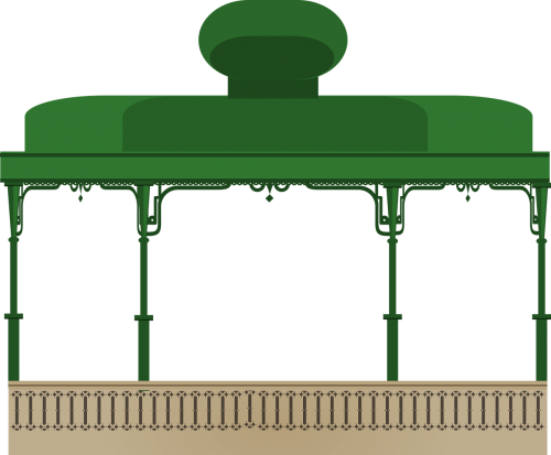 kiosk svg decor