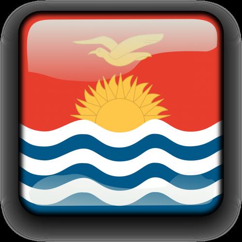 kiribati flag country