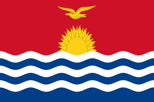kiribati flag national flag