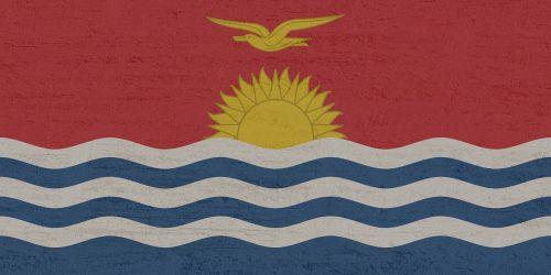 kiribati flag pacific
