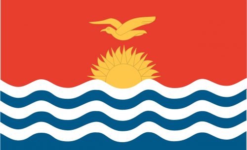 kiribati flag official