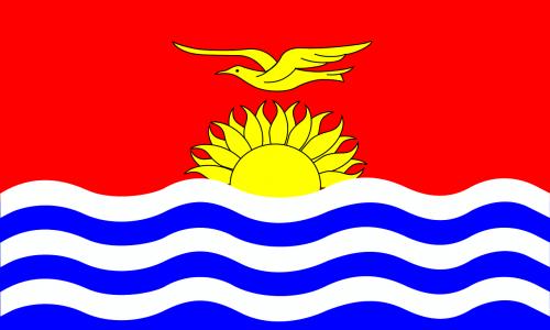 kiribati flag national