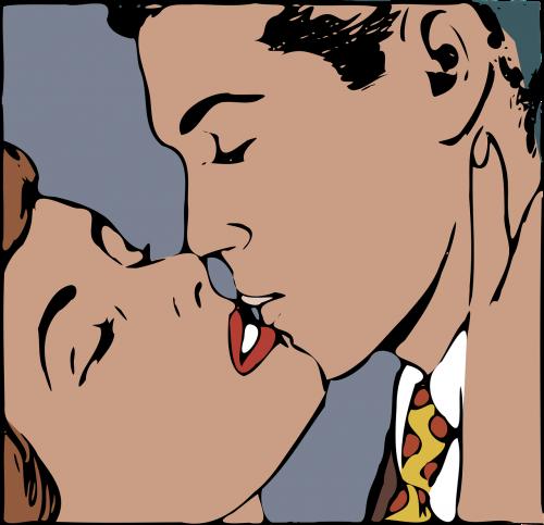kiss kissing love