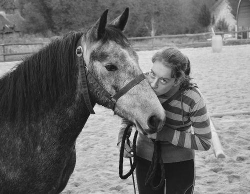 kiss kisses photo black white