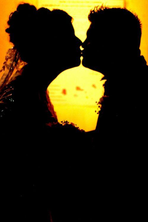 kiss marriage woman