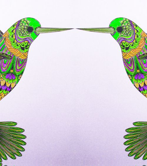 Kissing Hummingbirds