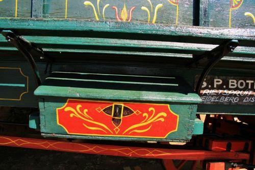 Kist On Side Of Ox Wagon
